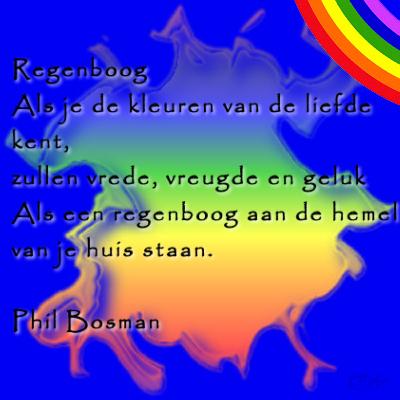 Zeer Thema regenboog zomer kind en geloof #PD13